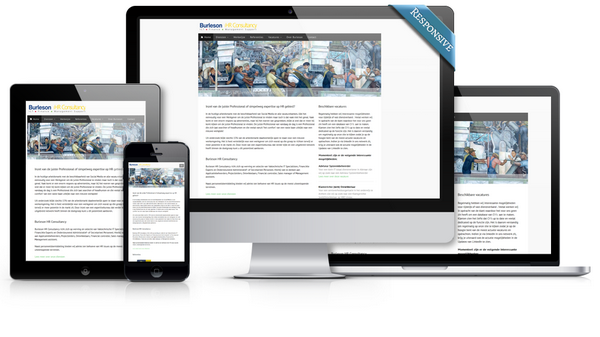 Responsive website Burleson HR Consultancy